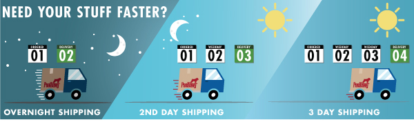 Faster Shipping Options