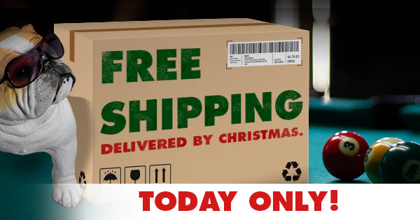 Free Shipping Day at PoolDawg Dec 14th Only!