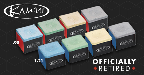Kamui .98 and 1.21 Chalk Discontinued: The Final Remaining Stash… Act Fast!