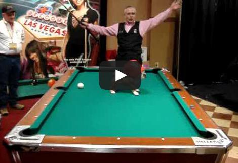Pool Video of the Week - The Dawgshot