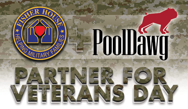 Fisher House Foundation and PoolDawg Partner For Veterans Day