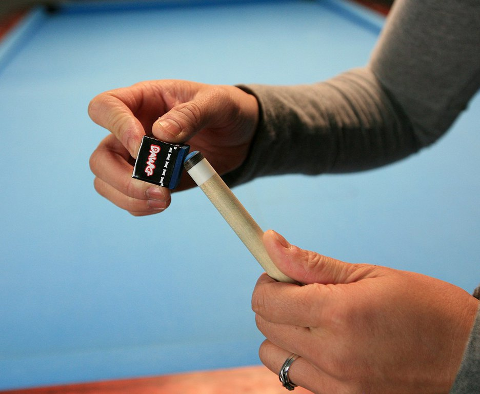 Chalk It Up, The Proper Way : Pool Cues and Billiards Supplies at PoolDawg.com